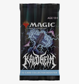 Wizards of the Coast Magic the Gathering: Kaldheim Collector's Booster (release 2-5-21)