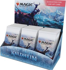 Wizards of the Coast Magic the Gathering: Kaldheim Set Booster Box (release 2-5-21)