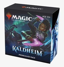Wizards of the Coast Magic the Gathering: Kaldheim Prerelease Kit (release 1-29-21)