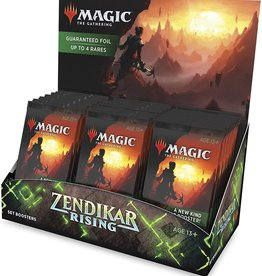 Wizards of the Coast Magic the Gathering: Zendikar Rising Set Booster Box