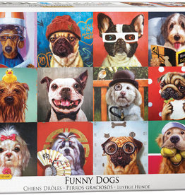 Eurographics Inc Funny Dogs 1000pc Puzzle