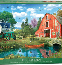 Eurographics Inc The Red Barn 1000pc Puzzle