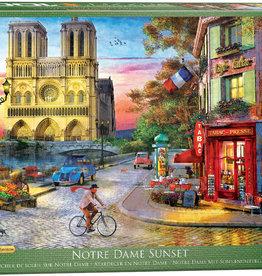 Eurographics Inc Notre Dame 1000pc Puzzle