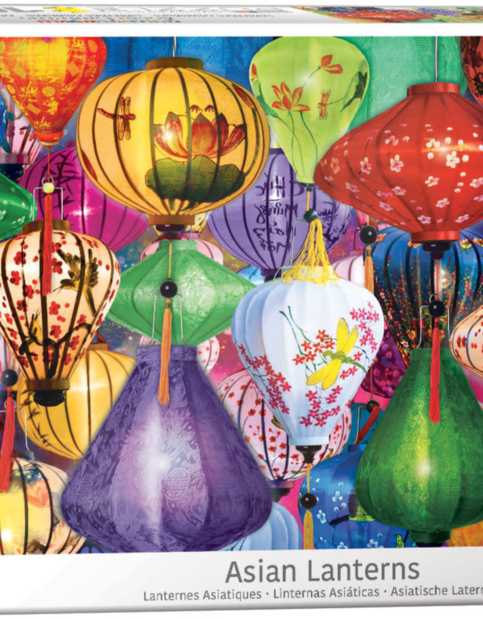 Eurographics Inc Asian Lanterns 1000pc Puzzle