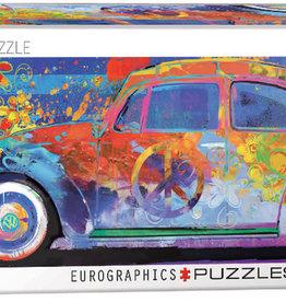 Eurographics Inc Beetle Splash 1000pc Panoramic Puzzle