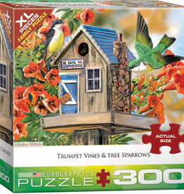Eurographics Inc Trumpet Vine and Tree Sparrows 300pc Puzzle