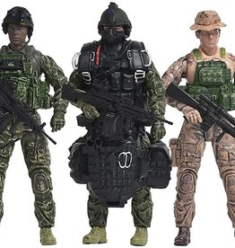 Elite Force Navy 5 Pack Military Action Figures