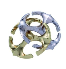 Bepuzzled Rotor-Hanyama Cast Metal Puzzle Level 6
