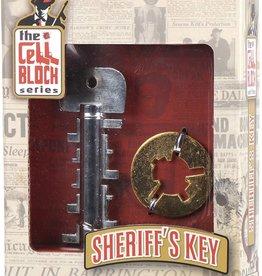 Cell Block Sheriff's Key