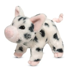 Douglas Toys Leroy Black Spotted Pig