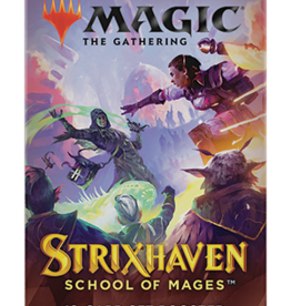 Wizards of the Coast Magic the Gathering: Strixhaven Set Booster