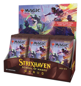 Wizards of the Coast Magic the Gathering: Strixhaven Set Booster Box