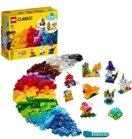 LEGO LEGO Creative Transparent Bricks