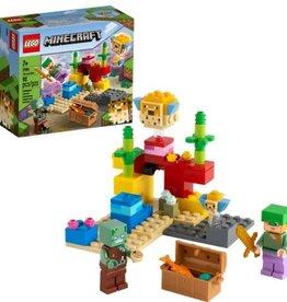 LEGO LEGO Minecraft The Coral Reef