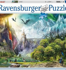 Ravensburger Reign of the Dragons 3000pc puzzle
