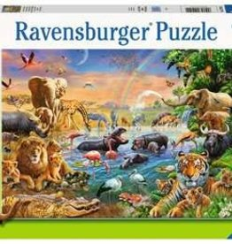 Ravensburger Savannah Jungle Waterhole 100pc Puzzle