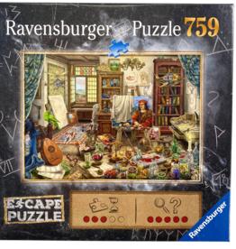 Ravensburger ESCAPE The Artist's Studio 759pc Puzzle