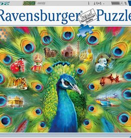 Ravensburger Land of the Peacock 2000pc Puzzle