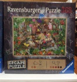 Ravensburger ESCAPE The Cursed Greenhouse 368pc Puzzle