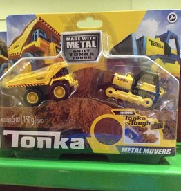 Tonka Tonka Metal Movers Combo Pack Assorted