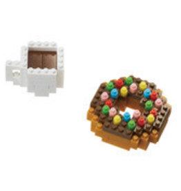 Schylling Nanoblock - Donut & Coffee