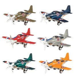 Schylling Die cast Airplanes - spinning prop & retractable gear