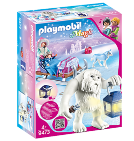 Playmobil Playmobil Yeti with Sleigh