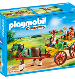 Playmobil Playmobil Horse-Drawn Wagon