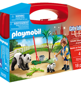 Playmobil Playmobil Panda Caretaker Carry Case