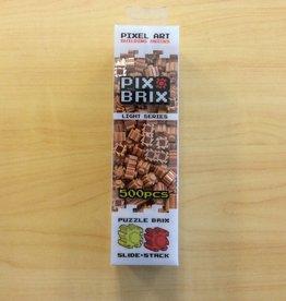 Pix Brix Pix Brix: 500ct Light Brown