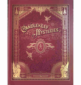 Wizards of the Coast D&D 5e: Candlekeep Mysteries Alternate Art Cover