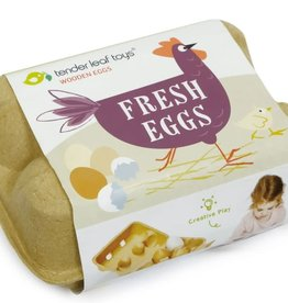 Tender Leaf Toys Wooden Eggs