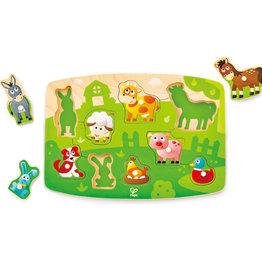 Hape Farmyard Peg Puzzle