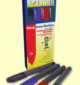Painless Learning Products Damp Erase Markers
