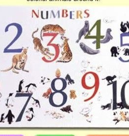 Painless Learning Products Numbers with Animals Learning Mat