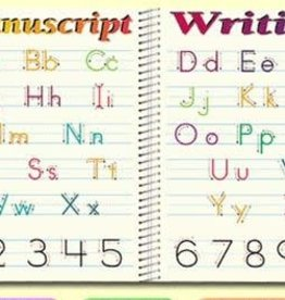 Painless Learning Products Manuscript Writing Learning Mat