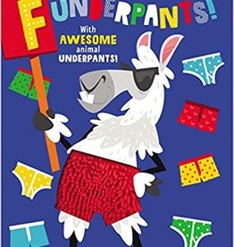 House of Marbles Funderpants! Read and Laugh Tactile  book