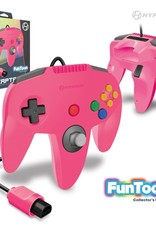 "Hyperkin ""Captain"" Premium Controller For N64 Funtoon Collector's Edition (Princess Pink)"