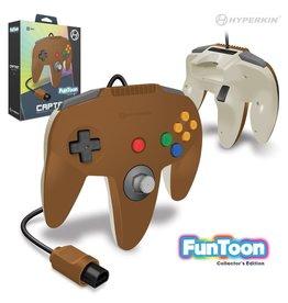 "Hyperkin ""Captain"" Premium Controller For N64 Funtoon Collector's Edition (Hero Brown)"