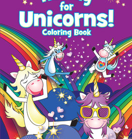 Dover Publications Hooray for Unicorns! Coloring Book