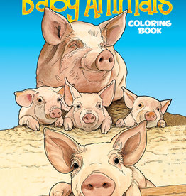 Dover Publications Baby Animals Coloring Book