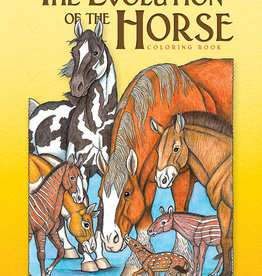 Dover Publications Evolution of the Horse Coloring Book