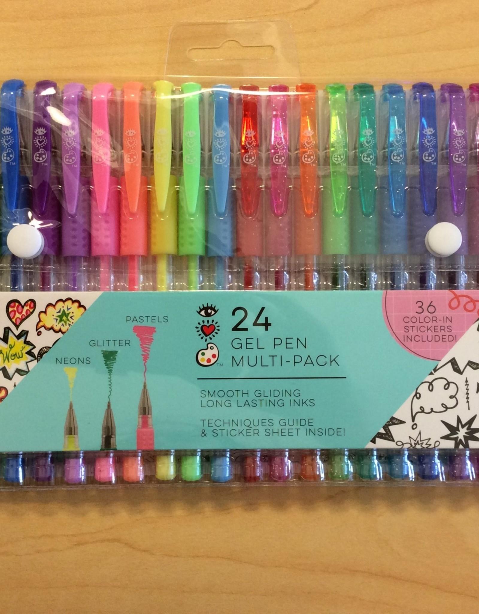 I Heart Art 24 Gel Pen Pack