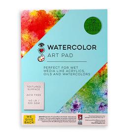 I Heart Art Watercolor Art Pad