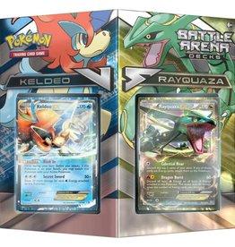 Pokemon Co. Int. Pokemon: Battle Arena: Rayquaza v Keldeo
