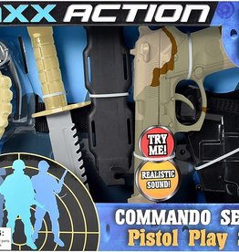 MAXX Action Commando Pistol Playset