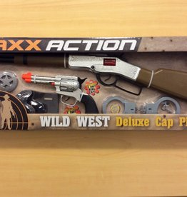 MAXX Action Deluxe Cap Playset