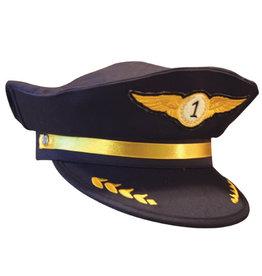 Aeromax Jr. Airline Pilot Cap, Adj Youth Size