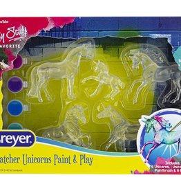Breyer Suncatcher Unicorns Paint & Play
