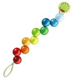 HABA Pacifier Chain - Rainbow Pearls